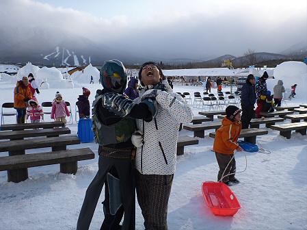 八幡平・安比ゆきフェスティバルの様子46(2012.2.18)