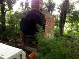 この窯で焼いたピザが食べてみたいですね