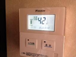 通電とともに家中でスイッチの入る音が響きます