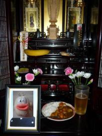 ビール&カレー&Qちゃん