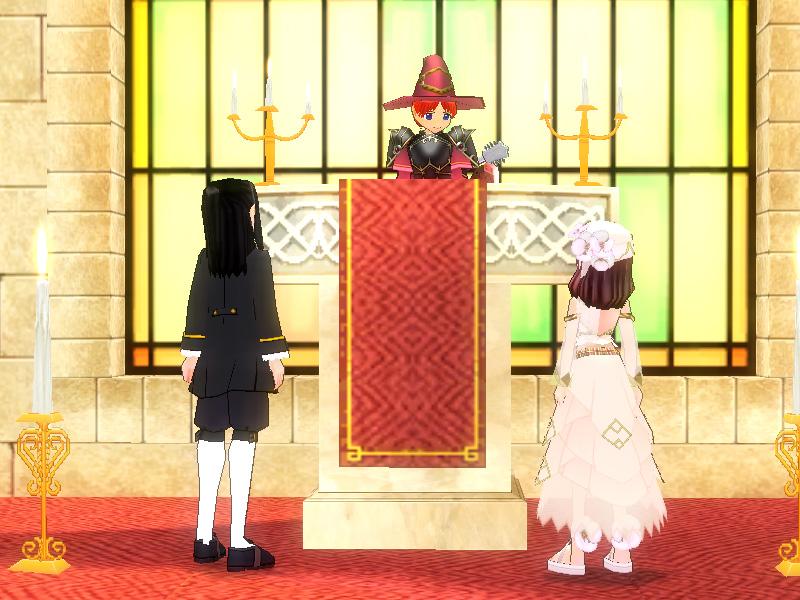 格闘ラバーズ結婚式