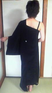 着物ドレス後ろ