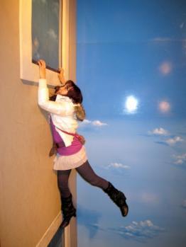 ハウステンボス_トリックアートまりえ窓