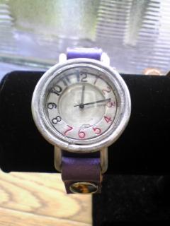 手作り時計アルミ1