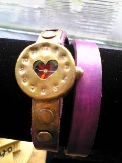 手作り時計2重巻き3