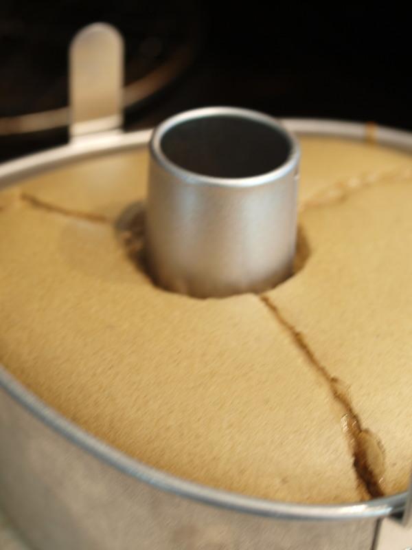 カフェモカシフォンケーキ工程2