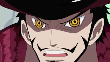ONE PIECE 第 470 話 剣豪ミホーク ルフィに迫る黒刀の斬撃.mp4_000877743