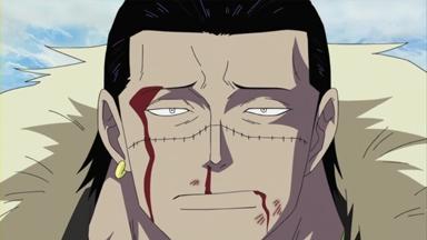 ONE PIECE 第 470 話 剣豪ミホーク ルフィに迫る黒刀の斬撃.mp4_000656322