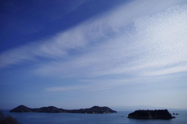 15広がるイワシ雲