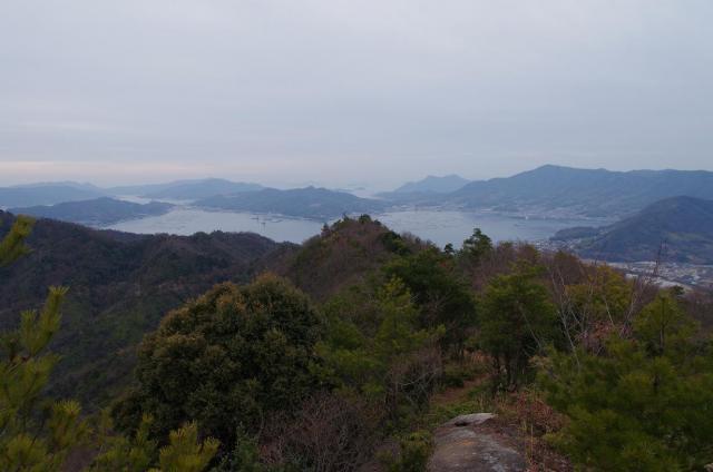 7クマン岳の山頂から