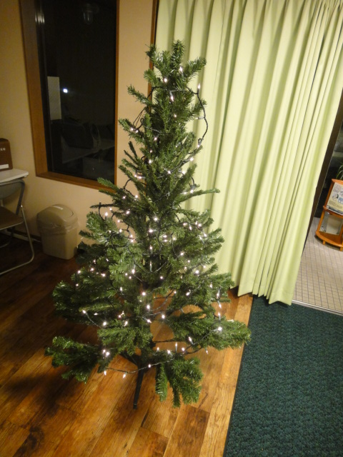 クリスマスツリー 電飾のみ