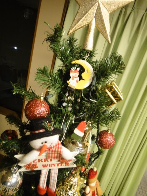 クリスマスツリー 上部