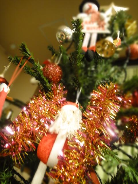 クリスマスツリー サンタ