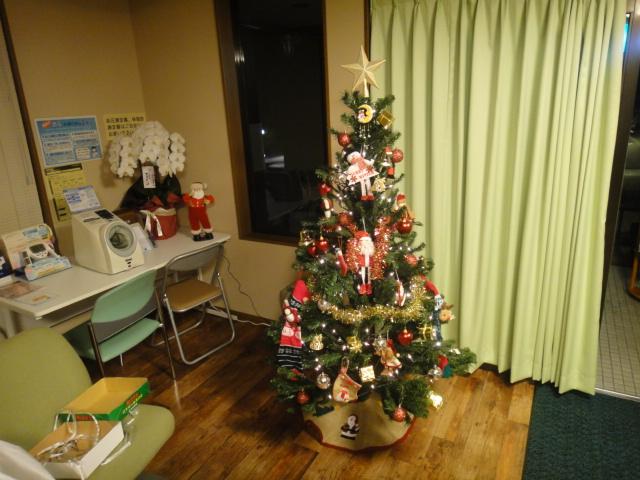 クリスマスツリー 完成