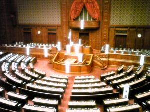 議会場 縮小