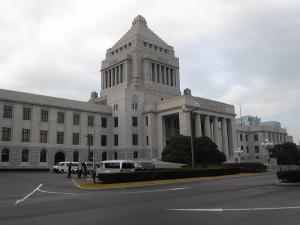 国会議事堂 縮小