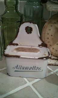 allumettes tin