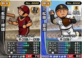 12衣笠、松田