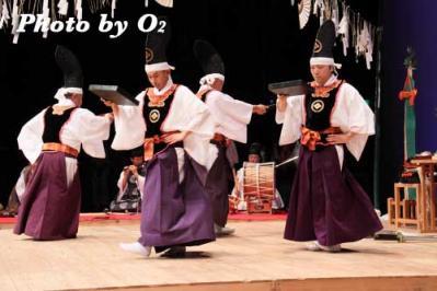 四箇散米舞