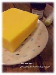 Preparation in winter soap 2010