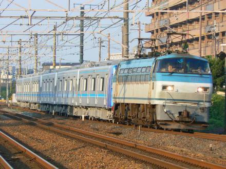 名古屋市交通局N3000形 撮影地:摂津富田駅