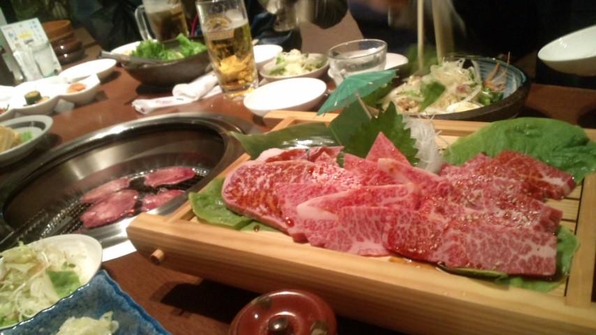 焼き肉ひまわりの激ウマのお肉