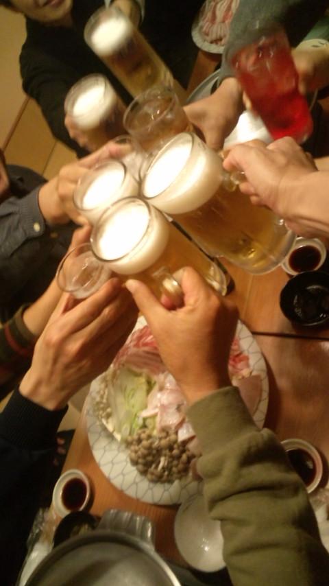乾杯~~~~♪