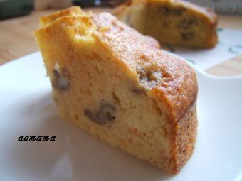 バナナプディングケーキ