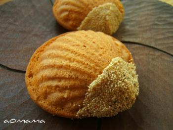 栗のバターケーキ