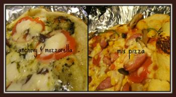誕生日ピザ