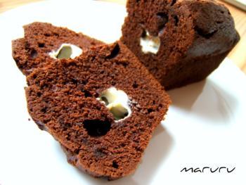 ショコラチーズのパウンドケーキ