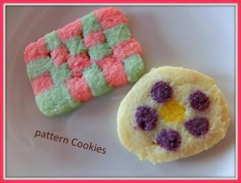 絵柄クッキー葵作