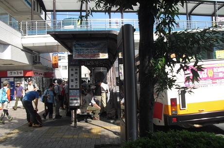 1 河内長野のバスターミナル