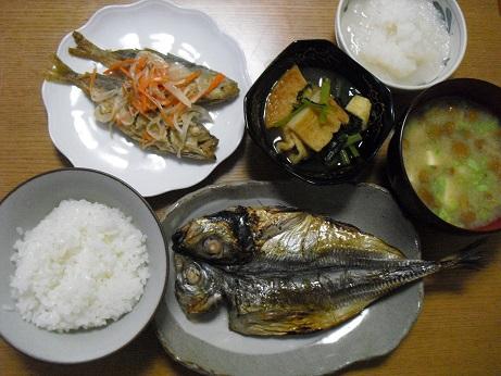 4 和風の食事