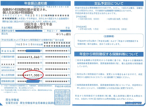 1 個人住民税の特別徴収