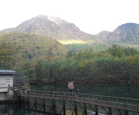 5 大正池より焼岳