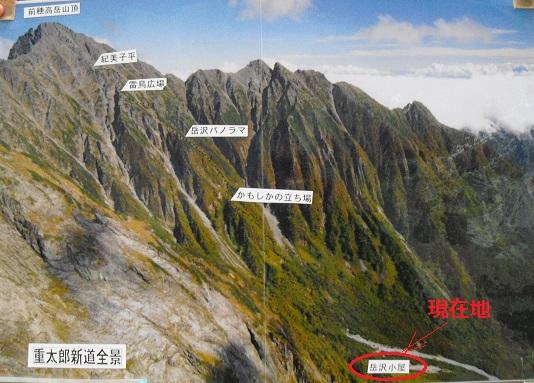 5 前穂高岳へのルート