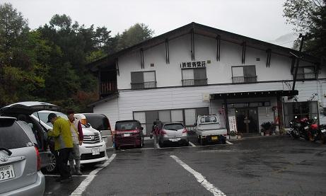 5 乗鞍高原の温泉宿へ到着