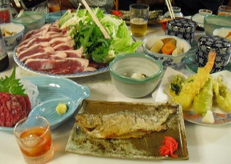 8 乗鞍高原の温泉宿・夕食