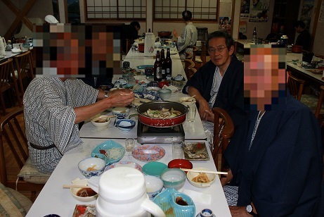 9 乗鞍高原の温泉宿・夕食