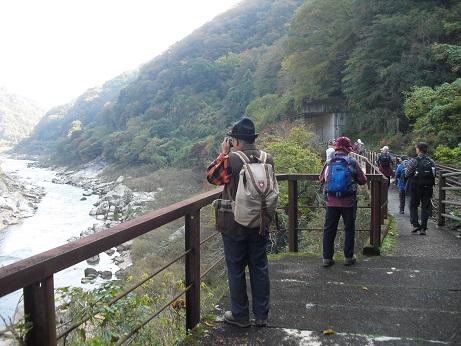 5 木津川沿いの東海自然歩道