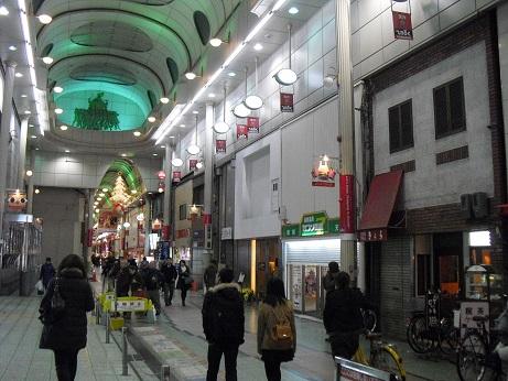 4 天神橋筋商店街