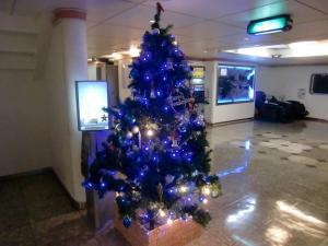 往路クリスマスツリー