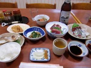 藤崎旅館夕食