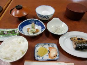 藤崎旅館朝食