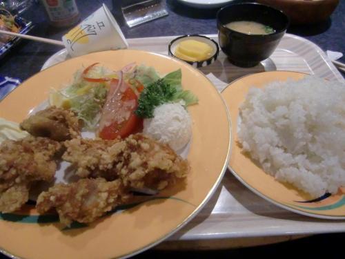 8唐揚げ定食