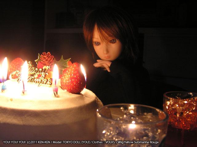 クリスマスケーキ&YOU