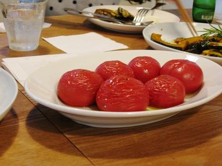 フルーツトマトのオーブン焼き