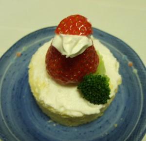 芽琉用ケーキ