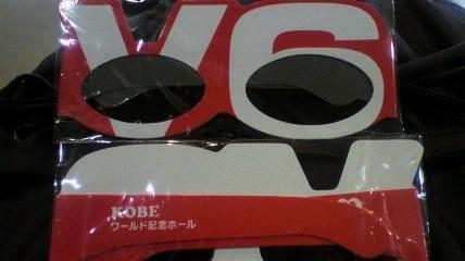 V6 3Dメガネ